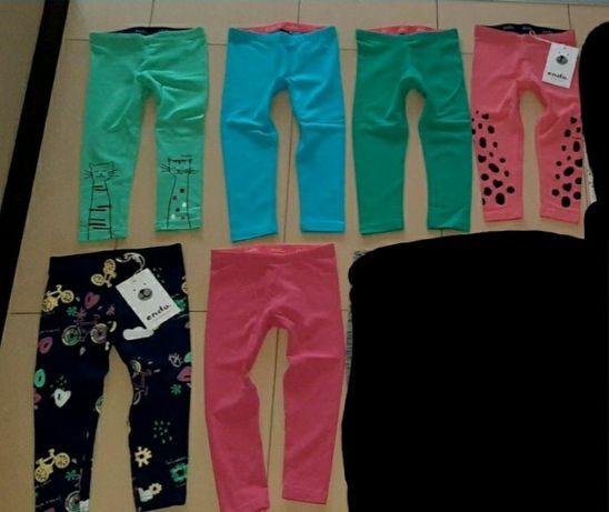 Nowe paka 6szt 92 leginsy  spodnie endo