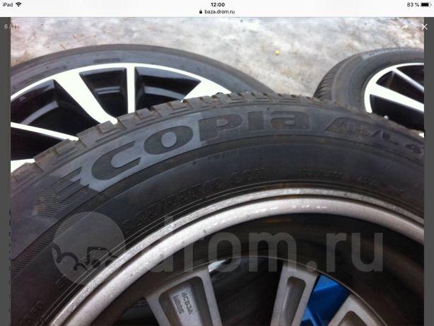 Bridgestone ecopia 225*55*19