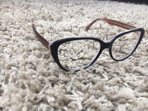Okulary oprawka z tworzywa