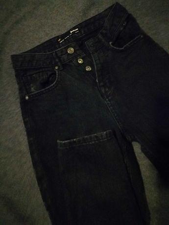 Mom jeans czarne