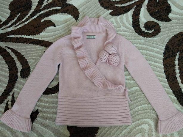 Теплая нарядная кофта свитер Cherokee