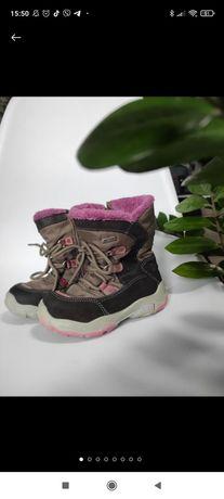 Зимові чобітки Elefanten (Італія) на дівчинку розмір 24