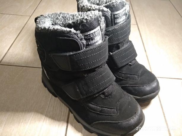 Ботинки зима р.34