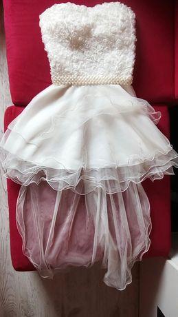 Sukienka lou louboutin s sx m 34 36 38 ślub