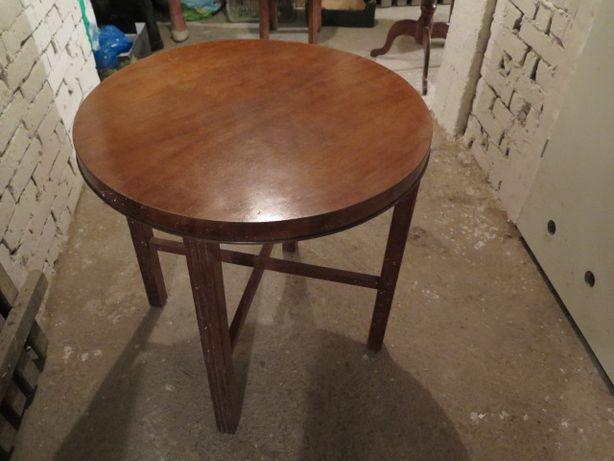 Stolik okrągły 4 nogi
