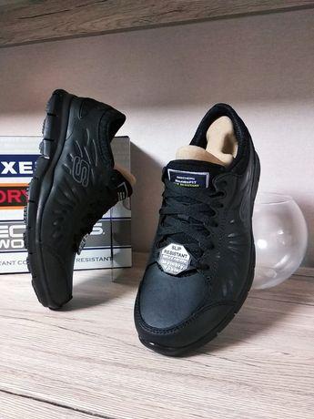 Skechers слипоны кроссовки натуральная кожа 24,5 см clarks nike