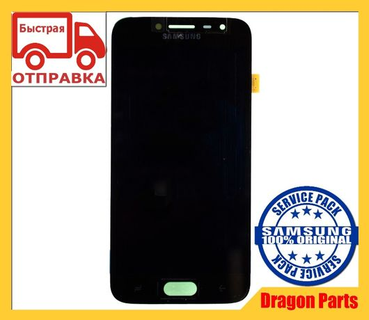 Дисплей с сенсором Samsung J250 Galaxy J2 Черный, оригинал GH97-21339A