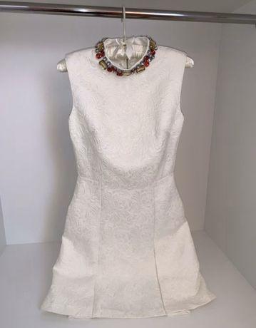Белое нарядное платье kira plastinina