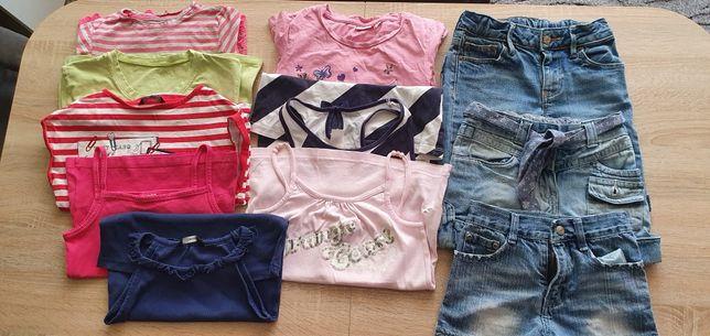 Zestaw ubranek dla dziewczynki 122 - 128