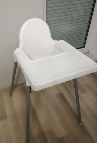 Krzesełko do karmienia antilop ikea białe