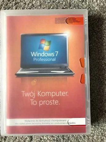 Windows 7 Pro PL, płyta instalacyjna