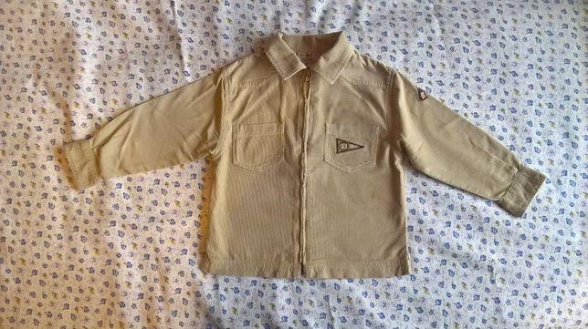 рубашка на мальчика до 3-х лет