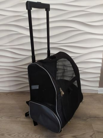 Сумка рюкзак для собак на колесах
