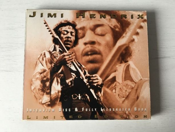 Jimi Hendrix Interview Disk & Fully Ilustrated Book