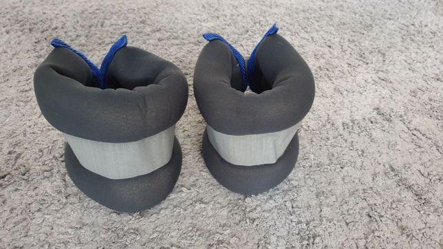 2 шт по 2 кг Утяжелители грузики для ног и рук для фитнеса