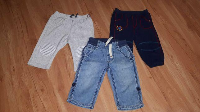 Spodnie chłopięce rozm.68-74