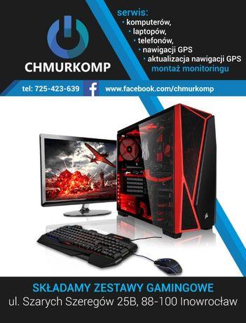 CHMURKOMP Sklep serwis komputerowy/laptopów/telefonów/nawigacji GPS