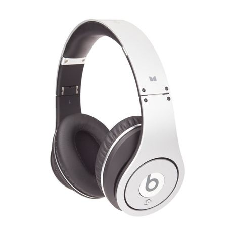 Słuchawki Monster Beats by dr, Dre Studio srebrne stan wzorowy