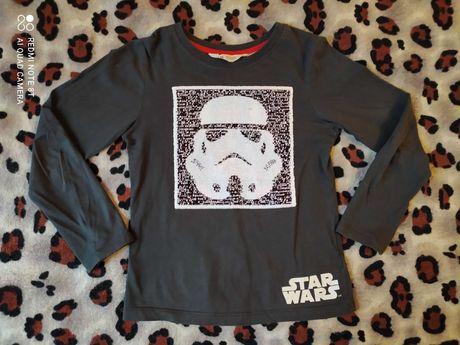 Реглан с пайетками-перевертышами для мальчика H&M Star Wars 6-8лет
