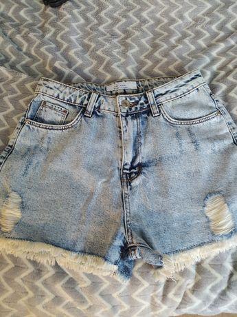 Шорты джинсовые   .