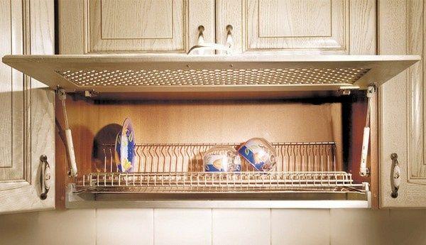 Крепления на решетку для сушки посуды