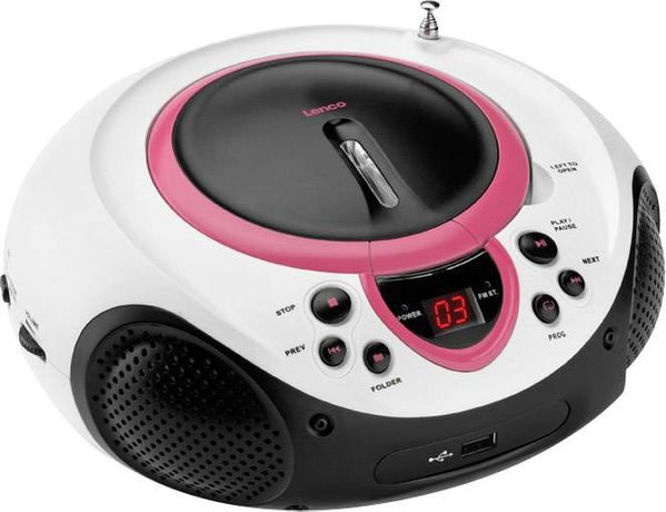 radioodtwarzacz CD LENCO SCD-38 USB FM