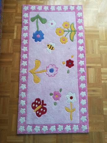 Gruby dywan dla dziecka do pokoju dziewczynki mata do zabawy