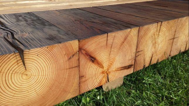 stare drewno, belki sosnowe, stropowe , kantówka sosna 17/21 cm, bale