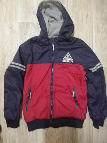 Куртка двухсторонняя демисезонная утепленная для подростка