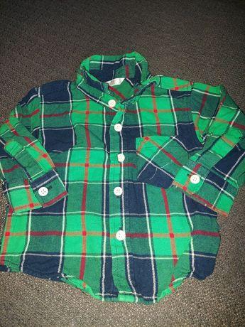 Koszula w kratkę rozmiar 74 pepco