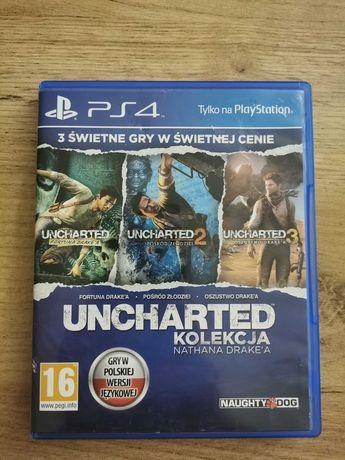 Gra Uncharted  kolekcja Nathana Drake'a Ps4