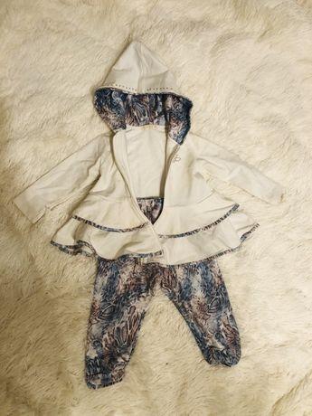 Zestaw bkuza i spodnie ceremony r 80
