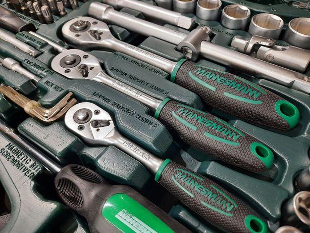 Mala de ferramenta Mannesmann 215 peças c/oferta
