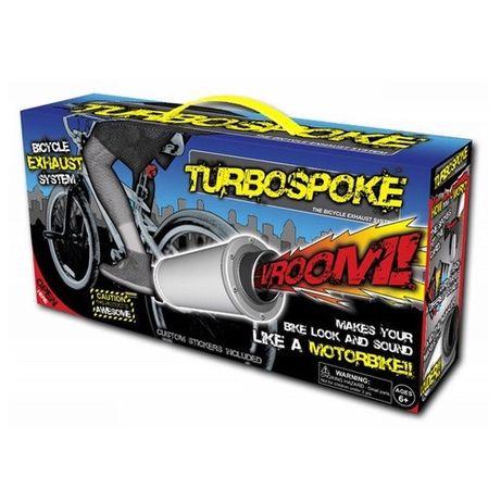 Выхлопная труба турбина Turbospoke аксессуар для велосипеда
