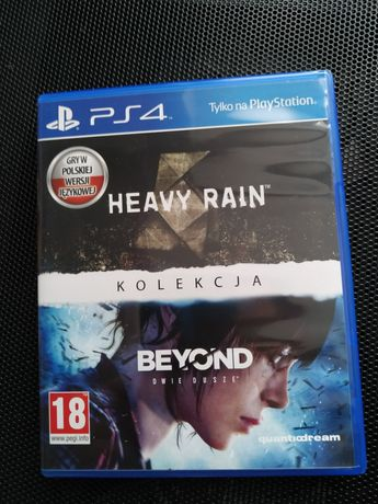 Heavy rain, beyond two souls ps4