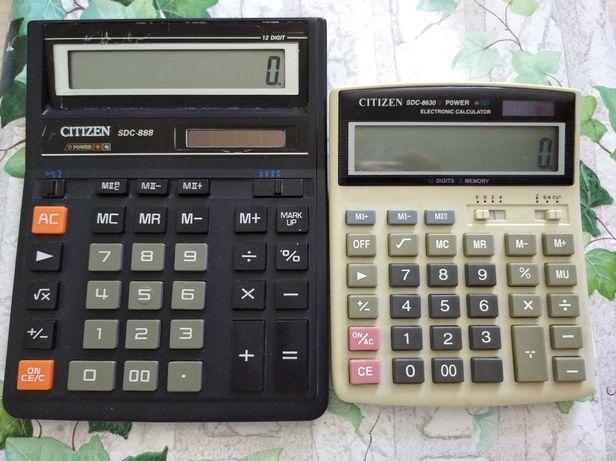 Калькулятор бухгалтерский, работает от солнечной батареи