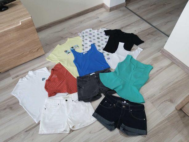 Paka ciuchów 36, koszulki i spodenki, spodenki, T-shirt 36