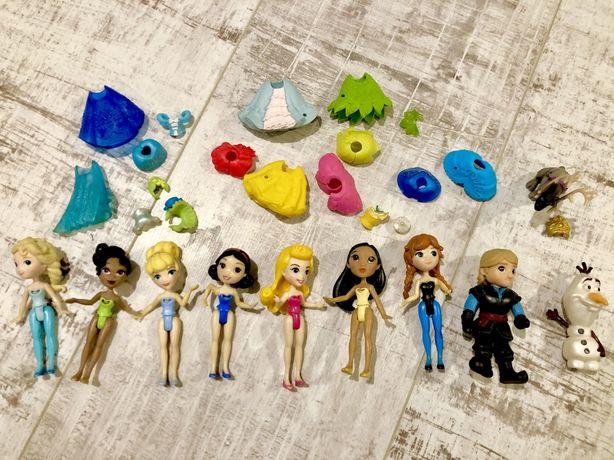 Laleczki Disney Princess Hasbro zestaw 8 sztuk + acesoria
