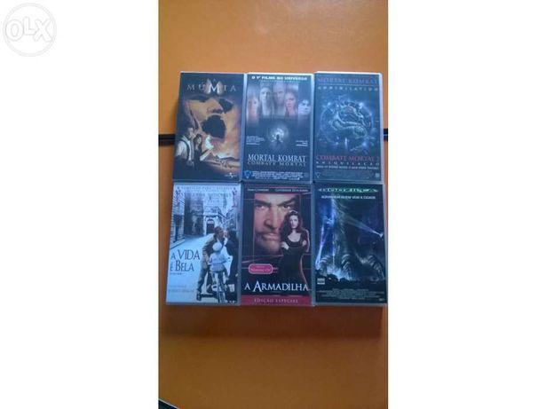 Vendo filmes em cassete video VHS Originais