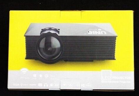 ХИТ 2020! Проектор портативний мультимедійний LCD UNIC JSQ-UC68