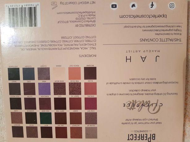 BPERFECT X JAH Clientele Palette paleta cieni