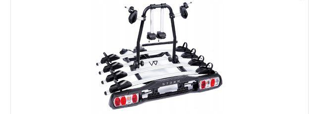 Platforma bagażnik rowerowy Storm 4 rowery 13PIN Promocja Świąteczna