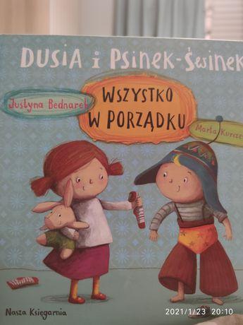 Dusia i Psinek Świnek, książka dla dzieci