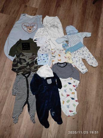 Одежда для новорожденных.Одежда для мальчика. Боди, слипы, спальник.