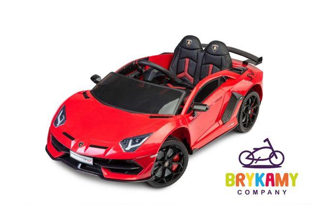 Auto na akumulator Lamborghini Aventador SVJ Red Toyz czerwony