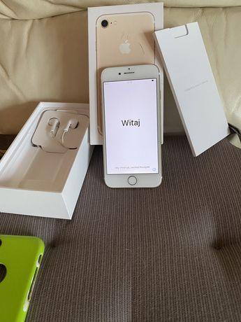 Iphone 7 128 GB - zestaw, stan bardzo dobry! + gratis