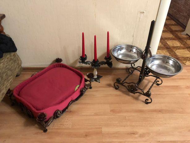 Миска ,Подставка для корма ,тарелка кормушка миска для кота собаки