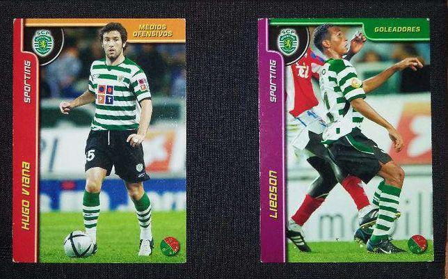Cromos Panini - Liedson e Hugo Viana - Sporting (portes grátis)