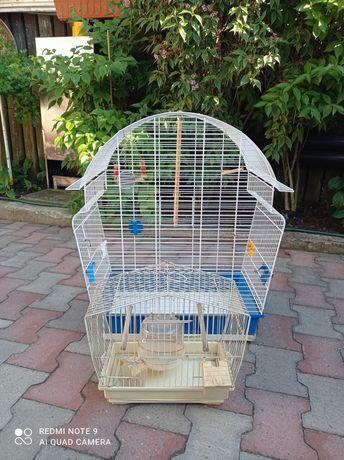 Klatka na ptaki kanarek papuga