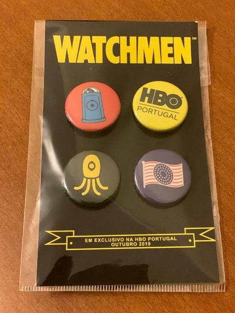 Pins Watchmen exclusivos HBO NOVOS (2019)